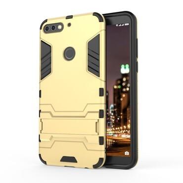 """Robustní kryt """"Impact X"""" pro Huawei Y7 Prime 2018 / Y7 2018 -zlatý"""