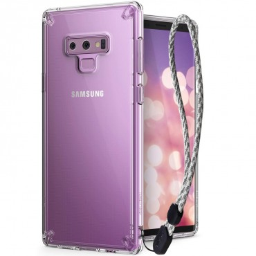 """Kryt Ringke """"Fusion"""" pro Samsung Galaxy Note 9 - crystal view"""