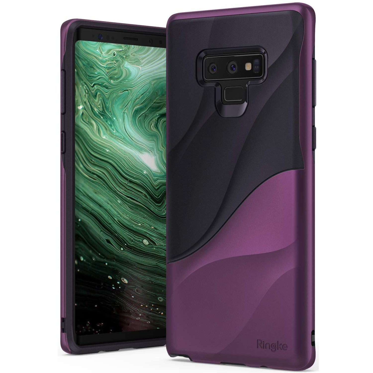 "Kryt Ringke ""Wave"" pro Samsung Galaxy Note 9 - metallic purple"