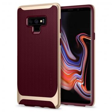 """Kryt Spigen """"Neo Hybrid"""" pro Samsung Galaxy Note 9 - burgundy"""