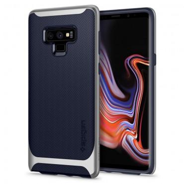 "Obal Spigen ""Neo Hybrid"" pro Samsung Galaxy Note 9 - stříbrný"