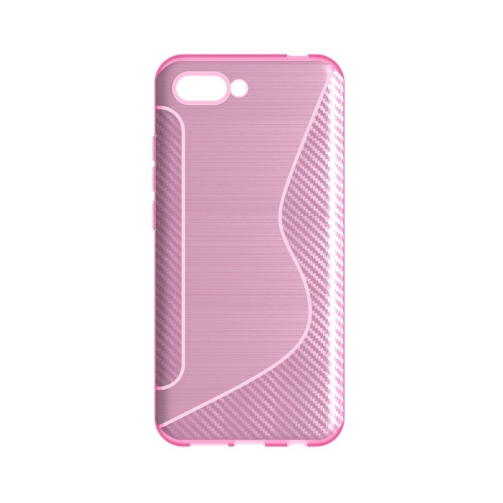 """Kryt TPU gel """"S-Line"""" pro Huawei Honor 10 - růžové"""