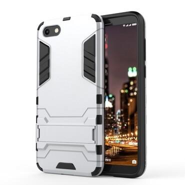 """Robustní obal """"Impact X"""" pro Huawei Y5 2018 / Y5 Prime 2018 / Honor 7s - stříbrný"""