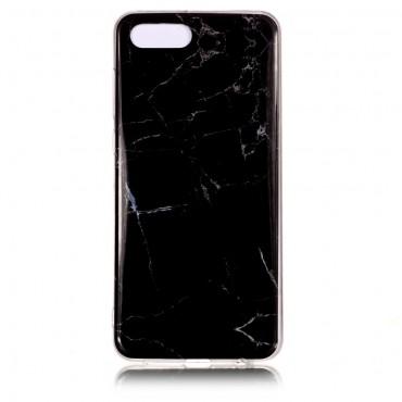 "Módní obal ""Marble"" pro Huawei Y5 2018 / Y5 Prime 2018 / Honor 7s - černý"