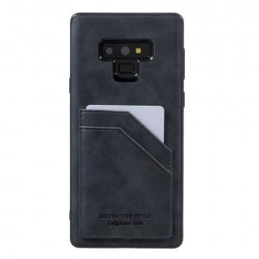 """Pouzdro """"Cardie"""" pro Samsung Galaxy Note 9 z umělé kůže - červené"""