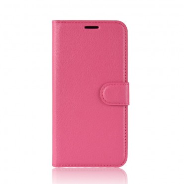 "Elegantní pouzdro ""Litchi"" pro Huawei Mate 20 Lite - růžové"