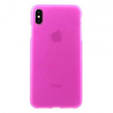 TPU gelový obal pro iPhone XS Max - růžový