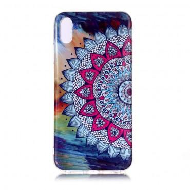 "Fluorescenční obal ""Mandala"" iPhone XS Max"