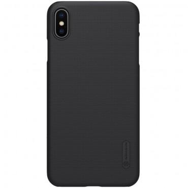 """Prémiový obal """"Super Frosted Shield"""" pro iPhone XS Max - černý"""