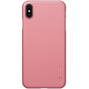 """Prémiový obal """"Super Frosted Shield"""" pro iPhone XS Max - růžový"""