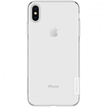 """Prémiový tenký obal """"Nature"""" iPhone XS Max - průhledný"""