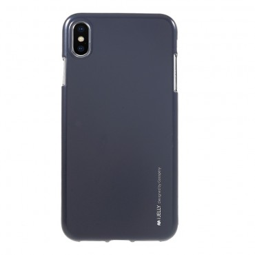 TPU gelový obal Goospery iJelly Case iPhone XS Max - černý