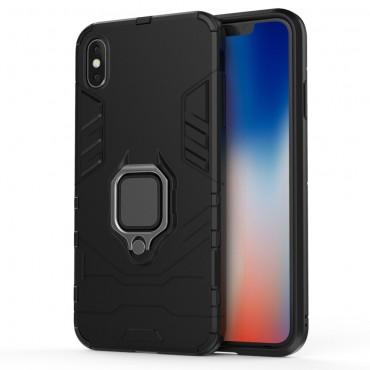 """Robustní kryt """"Impact X Ring"""" pro iPhone Xs Max - černý"""