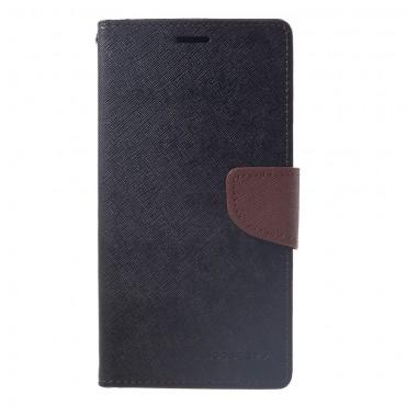 Kryt Goospery Fancy Diary pro iPhone XS Max - černý