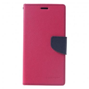 Kryt Goospery Fancy Diary pro iPhone XS Max - purpurový