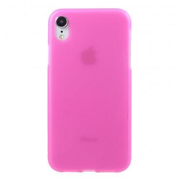 TPU gelový obal pro iPhone XR - růžový