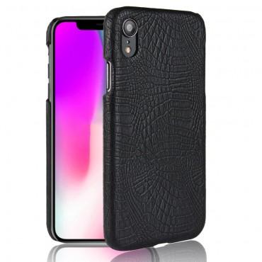 """Pouzdro """"Croc"""" pro iPhone XR z umělé kůže - červené"""
