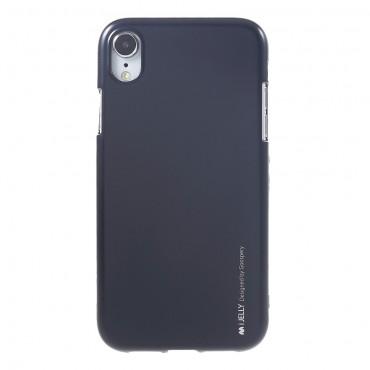 Kryt TPU gel Goospery iJelly Case pro iPhone XR - černé