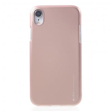 Kryt TPU gel Goospery iJelly Case pro iPhone XR - růžový