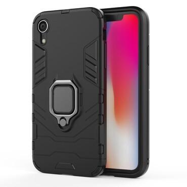"Robustní kryt ""Impact X Ring"" pro iPhone XR - černý"