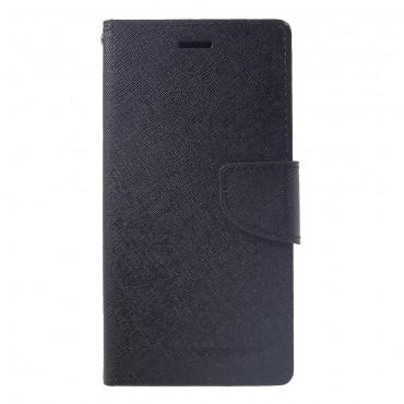 Pouzdro Goospery Fancy Diary pro iPhone XR - černé
