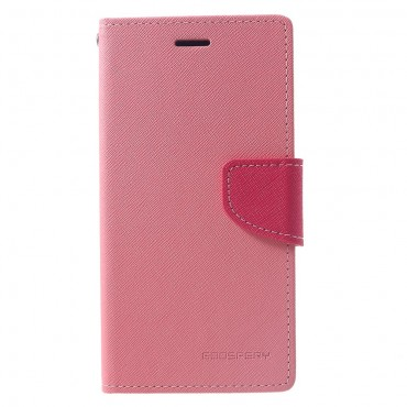 Kryt Goospery Fancy Diary pro iPhone XR - růžový