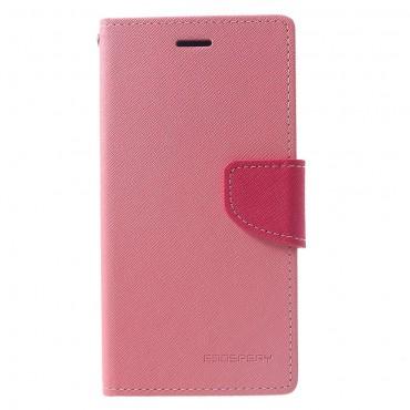 Pouzdro Goospery Fancy Diary pro iPhone XR - růžové