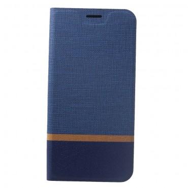 "Módní pouzdro ""Elegant Line"" pro Huawei Mate 20 Lite - modrý"