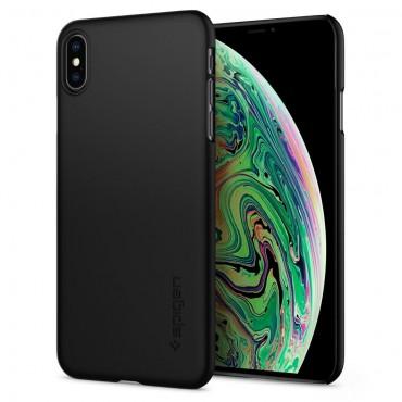 """Obal Spigen """"Thin Fit"""" pro iPhone XS Max - černý"""
