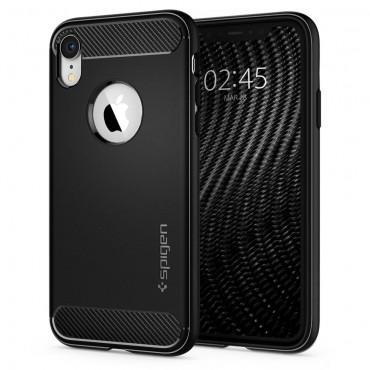 "Obal Spigen ""Rugged Armor"" pro iPhone XR - černý"