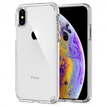 """Obal Spigen """"Ultra Hybrid"""" pro iPhone X / XS - průhledný"""