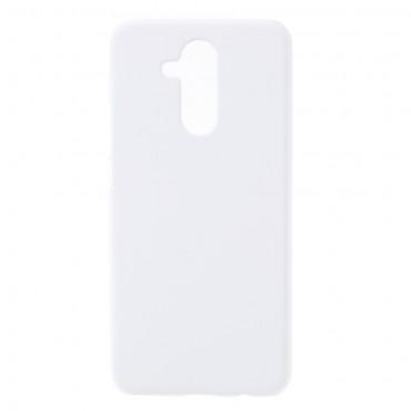 Tvrdý TPU obal pro Huawei Mate 20 Lite - bílý