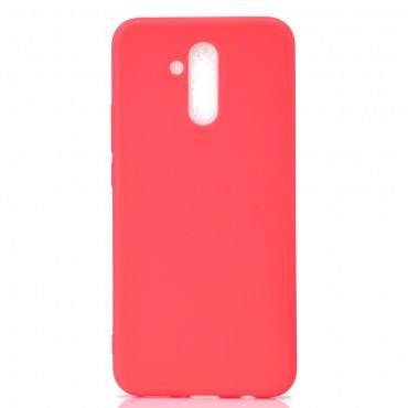 Kryt TPU gel pro Huawei Mate 20 Lite - červené