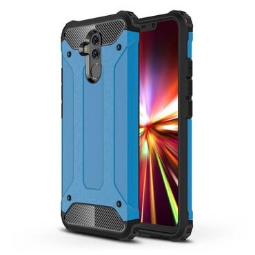 """Robustní kryt """"Rock"""" pro Huawei Mate 20 Lite - modrý"""