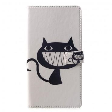 "Módní pouzdro ""Evil Kitten"" pro Huawei Mate 20 Lite"