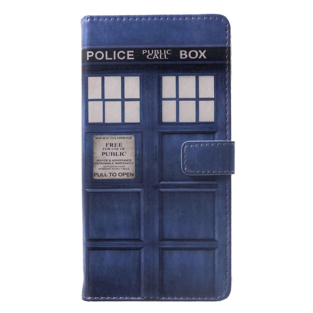 """Módní pouzdro """"Police Box"""" pro Huawei Mate 20 Lite"""