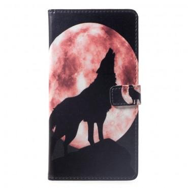 "Módní pouzdro ""Howling Wolf"" pro Huawei Mate 20 Lite"