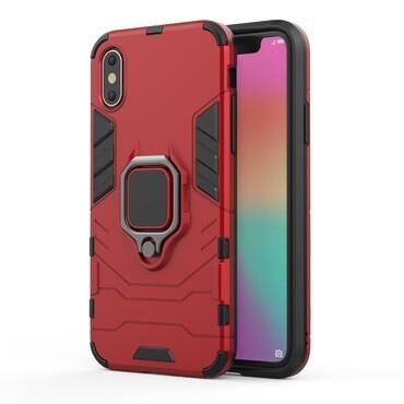 """Robustní obal """"Impact X Ring"""" pro iPhone X / XS - červený"""