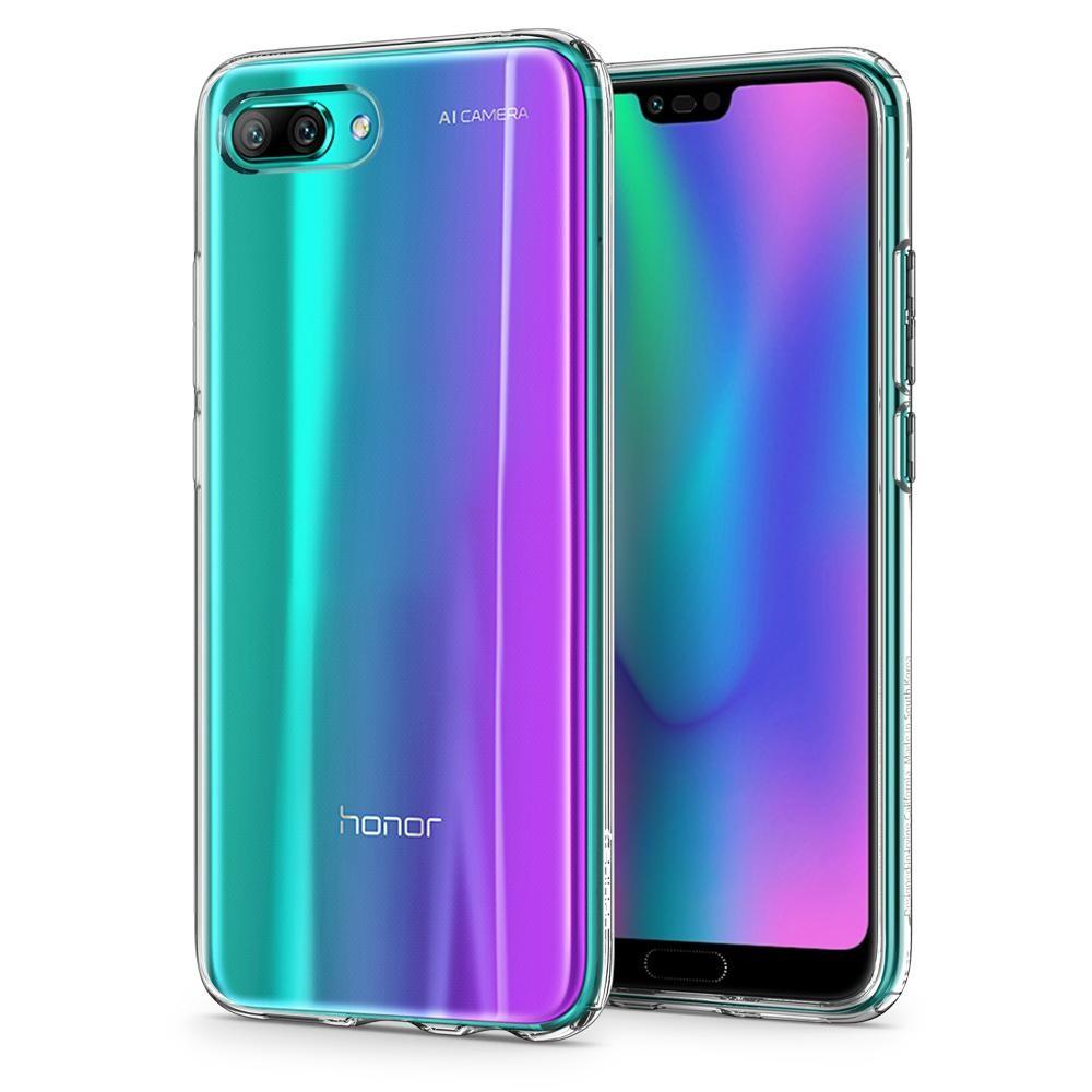 "Kryt Spigen ""Liquid Crystal"" pro Huawei Honor 10 - crystal clear"
