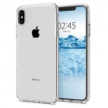 "Obal Spigen ""Liquid Crystal"" pro iPhone X / XS - křišťálově jasný"