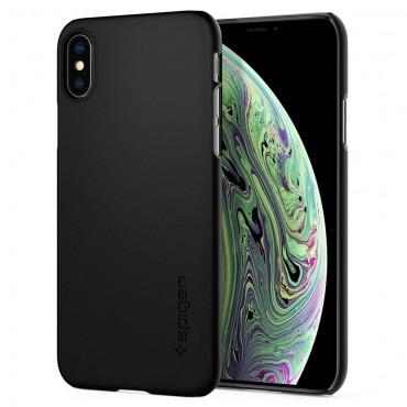 """Obal Spigen """"Thin Fit"""" pro iPhone X / XS - černý"""