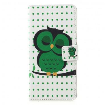 "Módní pouzdro ""Sleeping Owl"" pro Huawei Mate 20 Lite"