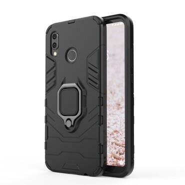 """Robustní kryt """"Impact X Ring"""" pro Huawei P20 Lite - černý"""