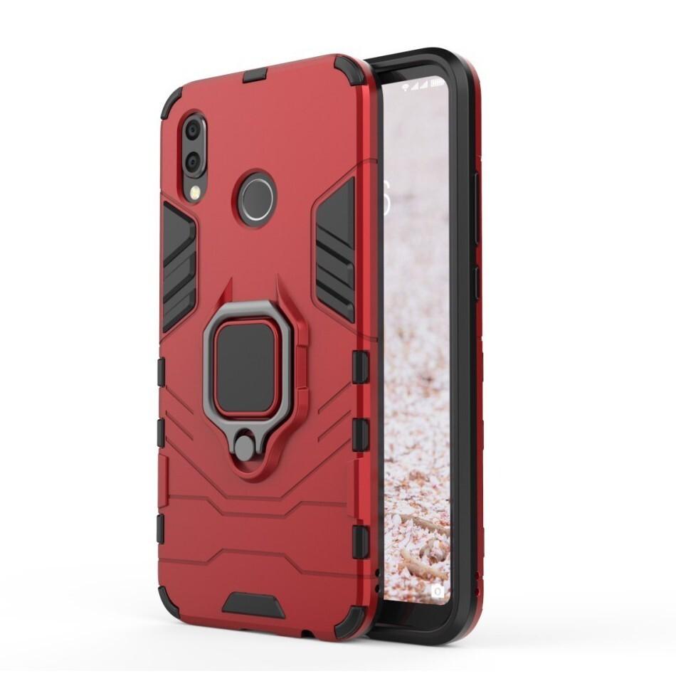"""Robustní obal """"Impact X Ring"""" pro Huawei P20 Lite - červený"""