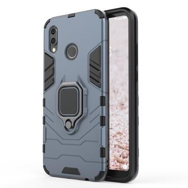 """Robustní kryt """"Impact X Ring"""" pro Huawei P20 Lite - stříbrné barvy"""