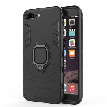 "Robustní kryt ""Impact X Ring"" pro iPhone 8 Plus / iPhone 7 Plus - černý"