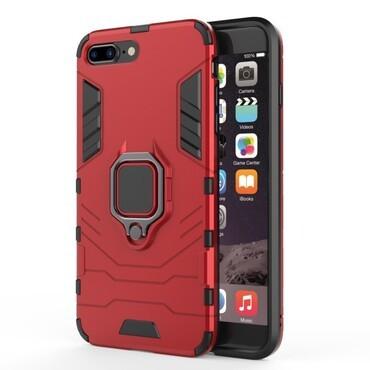 """Robustní kryt """"Impact X Ring"""" pro iPhone 8 Plus / iPhone 7 Plus - červené"""