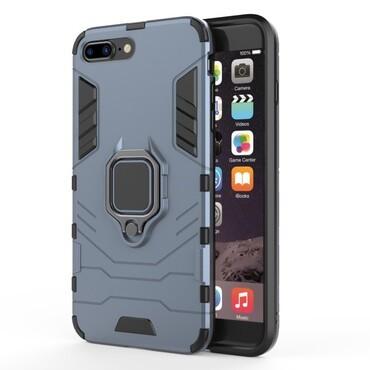 """Robustní obal """"Impact X Ring"""" pro iPhone 8 Plus / iPhone 7 Plus - tmavě modrý"""