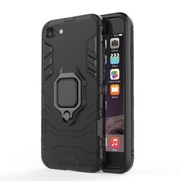 "Robustní kryt ""Impact X Ring"" pro iPhone 8 / iPhone 7 - černý"