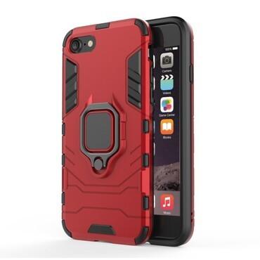 "Robustní kryt ""Impact X Ring"" pro iPhone 8 / iPhone 7 - červené"